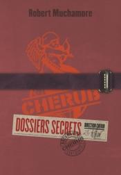 http://www.casterman.com/Jeunesse/Catalogue/romans-grand-format-cherub/cherub-dossiers-secrets