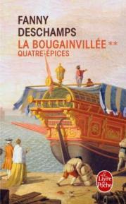 http://www.livredepoche.com/quatre-epices-la-bougainvillee-tome-2-fanny-deschamps-9782253070931