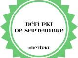 Défi PKJ : Septembre2018