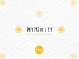 Défi PKJ : Été2020