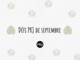 Défi PKJ : Septembre2020