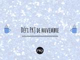 Défi PKJ : Novembre2019